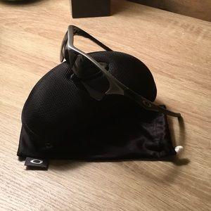 Dark Gray Original Oakley Half Jacket, gray lenses